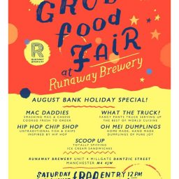 Grub Food Fair – Saturday 27th August 12pm-10pm